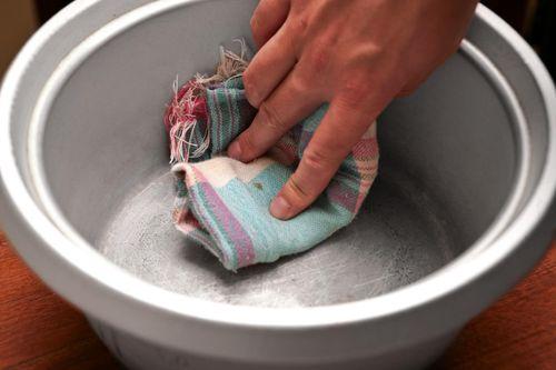 Вытирание посуды