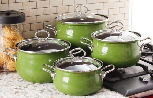 Как почистить пригоревшую эмалированную посуду