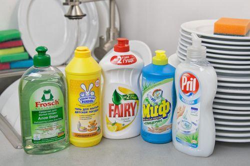Магазинные моющие средства