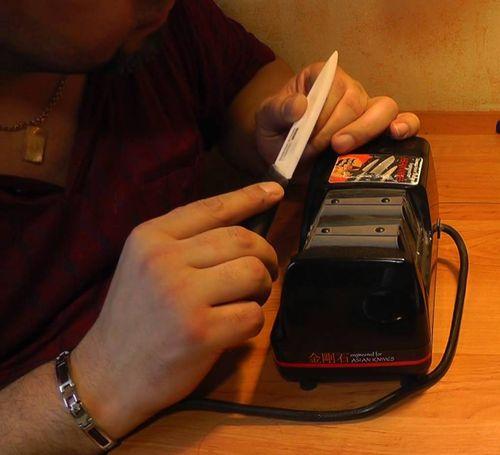 Электрическая заточка ножей