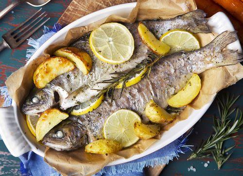 Вкусные рецепты рыбы на сковороде-гриль